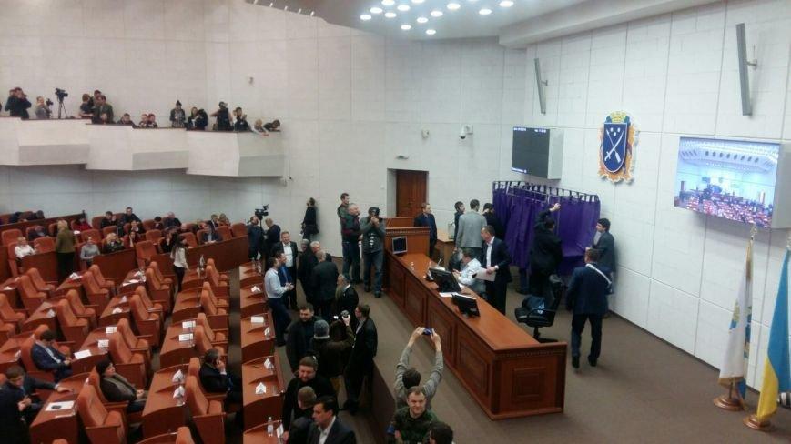 Сессия Днепропетровского городского совета: текстовый онлайн (фото) - фото 1