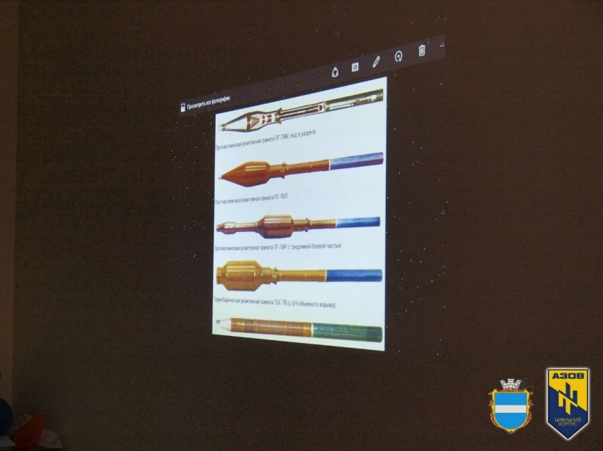 В Кременчуці ЦК «АЗОВ» показали, що таке війна і як себе поводити в зоні бойових дій (ФОТО) (фото) - фото 6