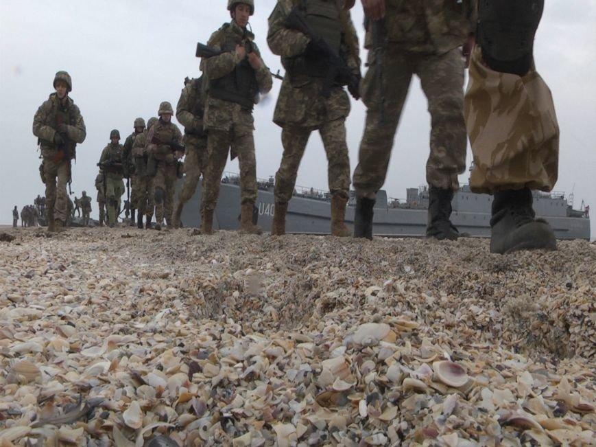 1c763861de2ec8516a0302943b20beaa В Одесской области высадились морские пехотинцы