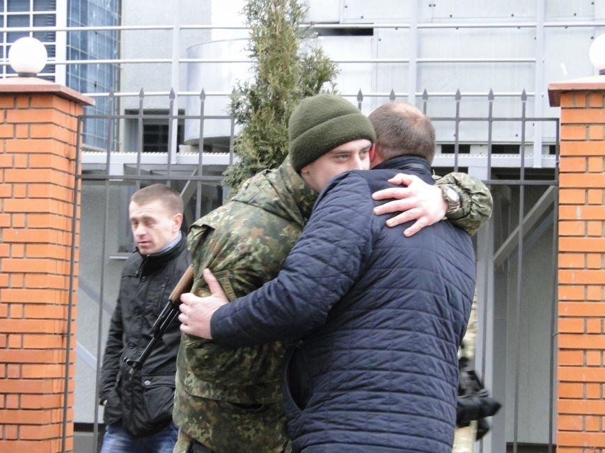 Хмельницькі спецпризначенці вирушили у зону АТО (Фото) (фото) - фото 1