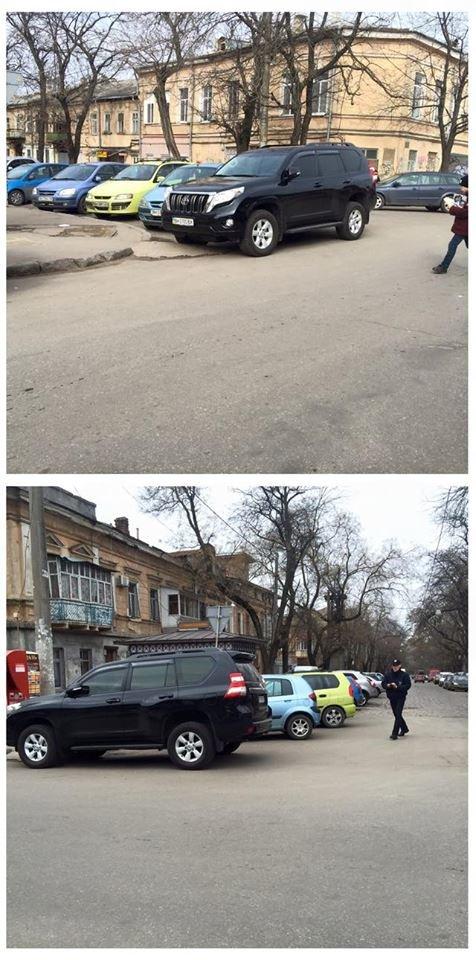 e99503de823e9f78aba9e4b28b1733db Одесситы не могут заставить полицейских оштрафовать автохамов