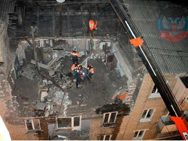 В Макеевке ликвидируют последствия взрыва газа в жилом доме (фото) (фото) - фото 4