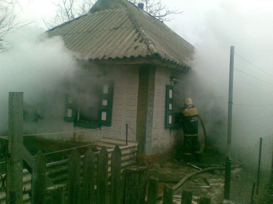 В Кременчугском районе чуть не сгорел частный дом. Хозяйка пострадала от огня (ФОТО) (фото) - фото 1