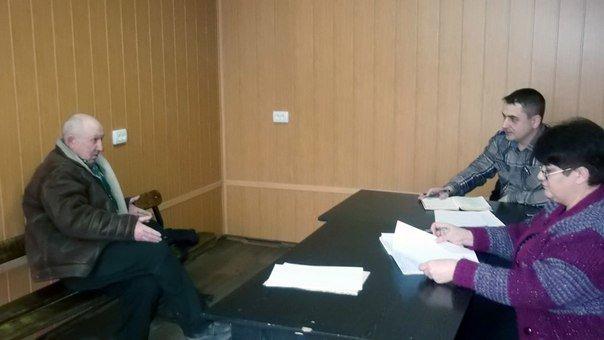 Руководством Красноармейского и Димитровского отделений полиции проведены личные приемы граждан (фото) - фото 2