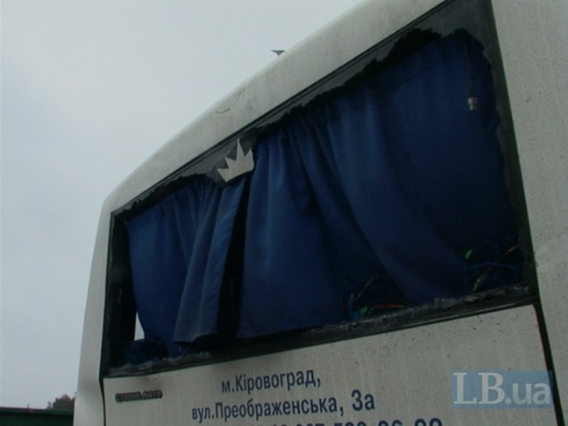 В Киеве грузовик протаранил кировоградский автобус. ФОТО (фото) - фото 1