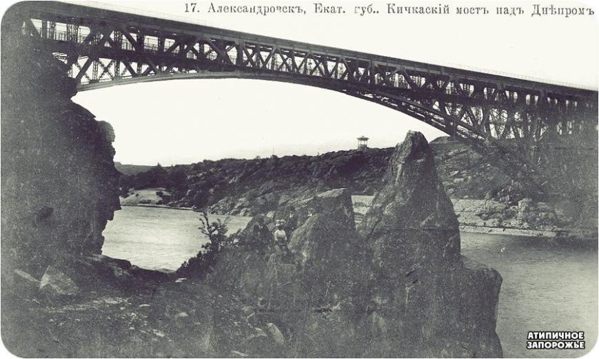 В Запорожье совершили очередное погружение к остаткам разрушенного Кичкасского моста (ВИДЕО, ФОТО) (фото) - фото 2