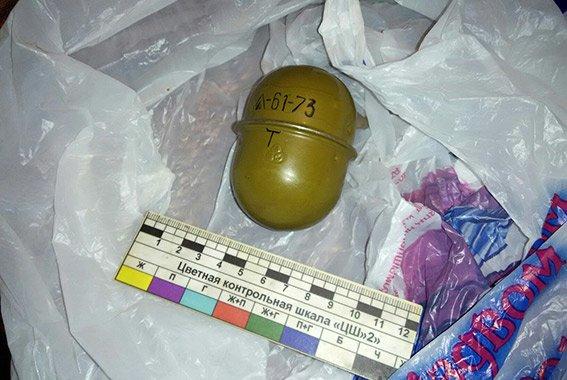 В Одессе задержали вооруженную гранатой и пистолетами банду