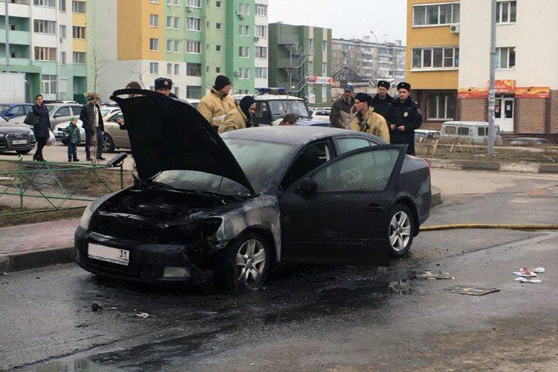 В Белгороде неизвестные подожгли «Шкоду» (фото) - фото 1