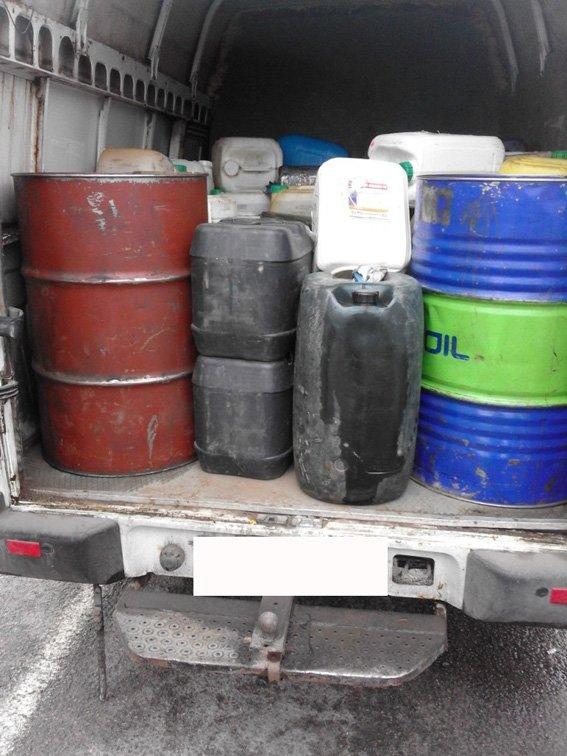 На Сумщине задержали авто с тонной бензина (ФОТО) (фото) - фото 1