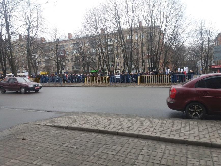 Кто и зачем митингует в центре Днепропетровска (ФОТО) (фото) - фото 2