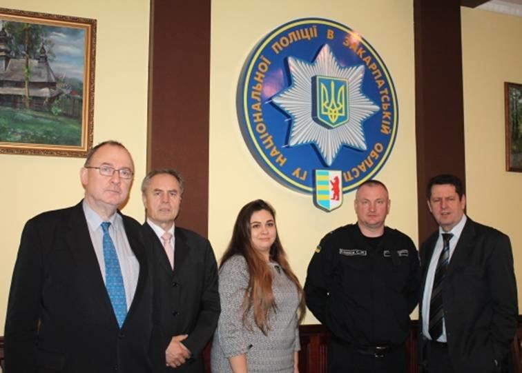 В закарпатській поліції гостюють представники Місії Євросоюзу (ФОТО) (фото) - фото 1