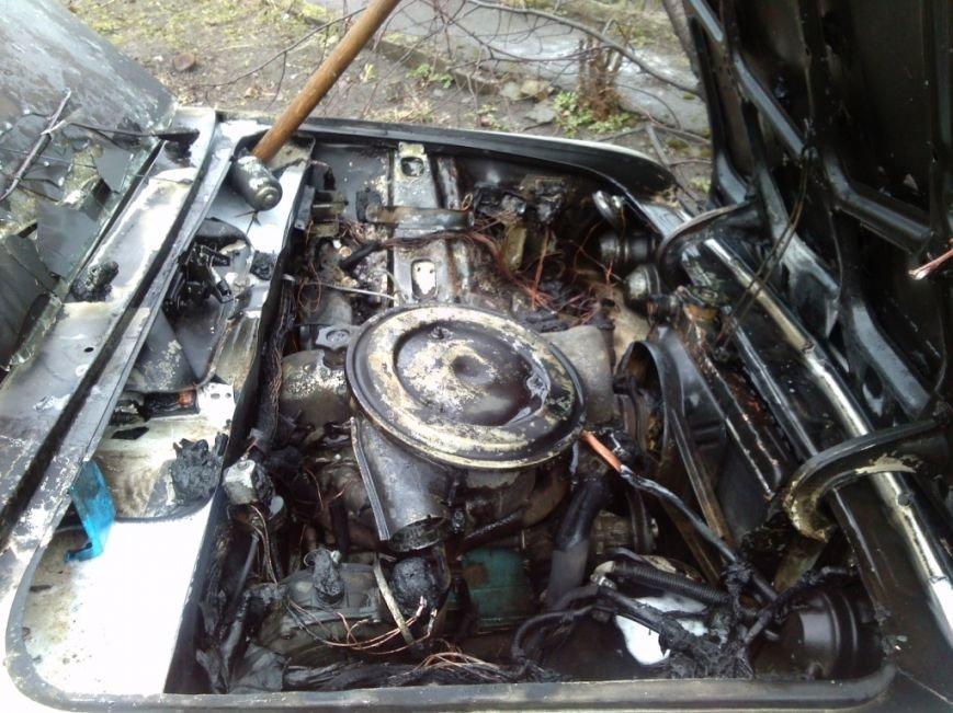 На улице Кизлярской в Днепродзержинске горел автомобиль (фото) - фото 3