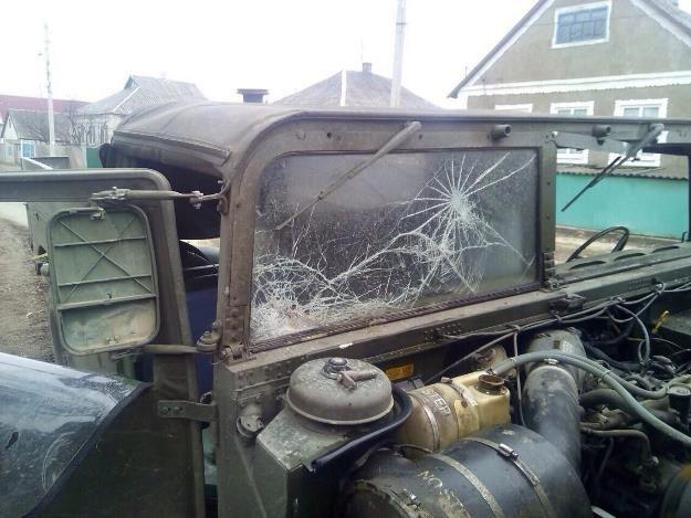 В Луганском регионе произошло второе происшествие за сегодня с участием украинских военных (ФОТО) (фото) - фото 1