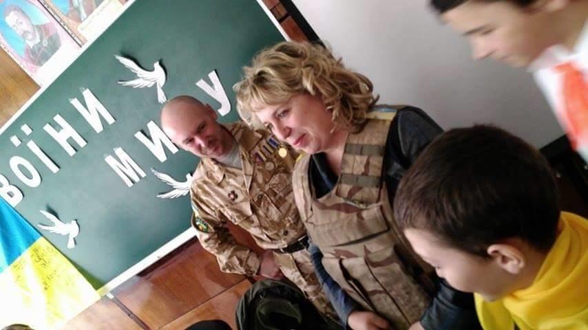 Ветеран АТО рассказал криворожским школьникам об Иловайском котле и цене мира  (ФОТО), фото-4