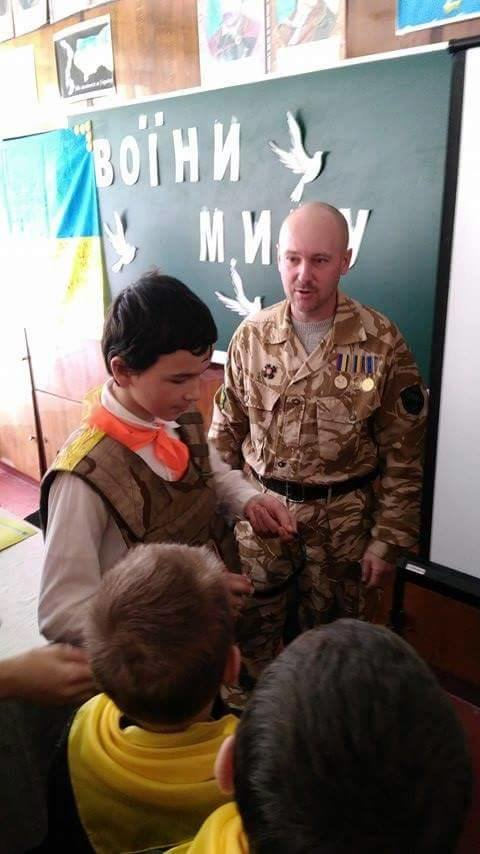 Ветеран АТО рассказал криворожским школьникам об Иловайском котле и цене мира  (ФОТО), фото-2
