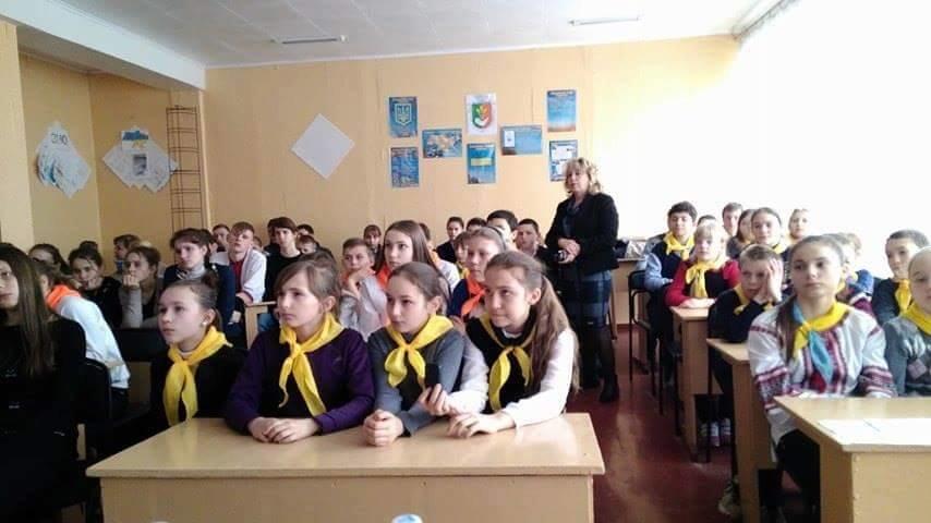 Ветеран АТО рассказал криворожским школьникам об Иловайском котле и цене мира  (ФОТО), фото-3