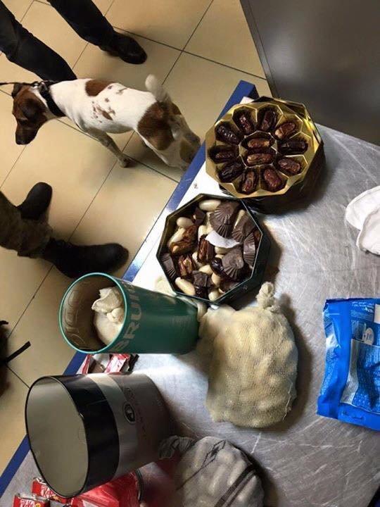 5075d94a706fa4a8ce594be4b315e9f5 Не вышло: В Одессу дельцы ввозили кокаин в шоколадных конфетах