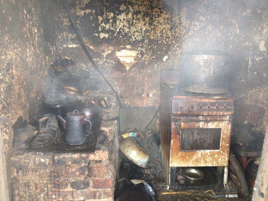 На поселке Новом во время пожара погиб человек (ФОТО), фото-1