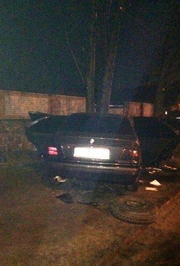 В Житомире «BMW-M3» въехал в дерево: водительпогиб на месте, фото-4