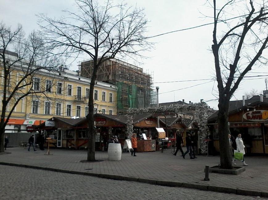 Одесскому дому Мангуби таки прилепили еще один этаж (ФОТО) (фото) - фото 1