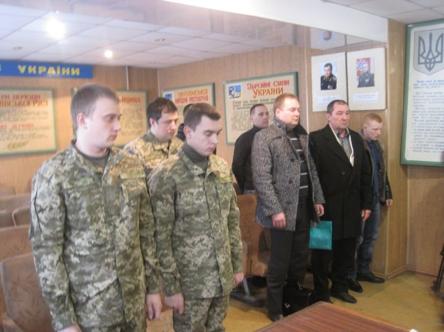 В Добропольском военкомате вручили медали участникам боевых действий, фото-4
