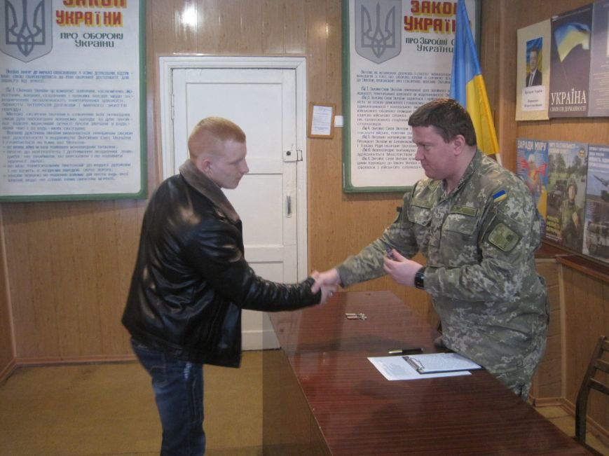 В Добропольском военкомате вручили медали участникам боевых действий, фото-2