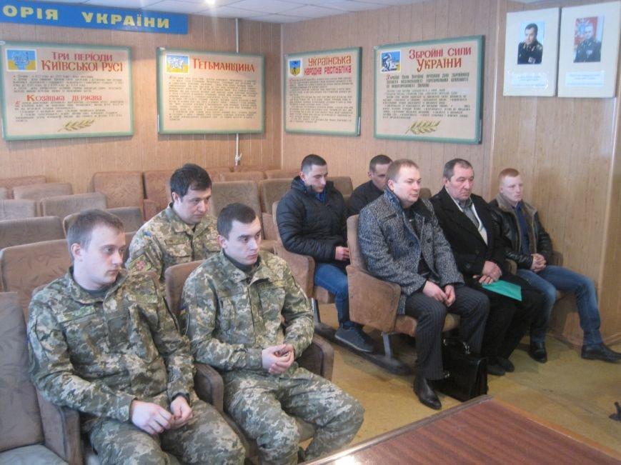 В Добропольском военкомате вручили медали участникам боевых действий, фото-3