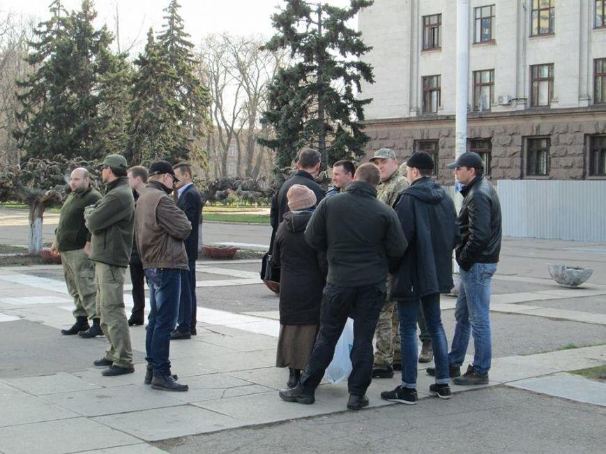 4656ba9da3bd10ae9c9485032d460e2b Одесская «Самооборона» следит за порядком на Куликовом поле