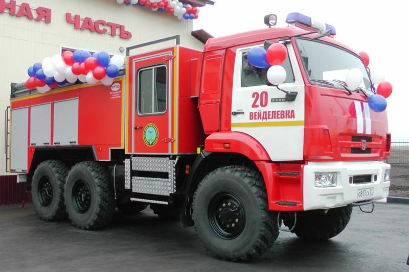 В одном из отделённых районов Белгородской области открыли новую пожарную часть (фото) - фото 1