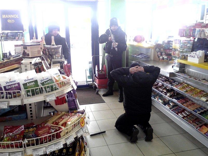 В Бахмуте прошли оперативно - тактические учения на автозаправочной станции, фото-2
