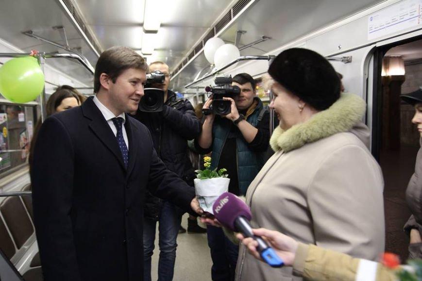"""В столичной подземке будет курсировать """"Весенний поезд"""" (ФОТО) (фото) - фото 1"""