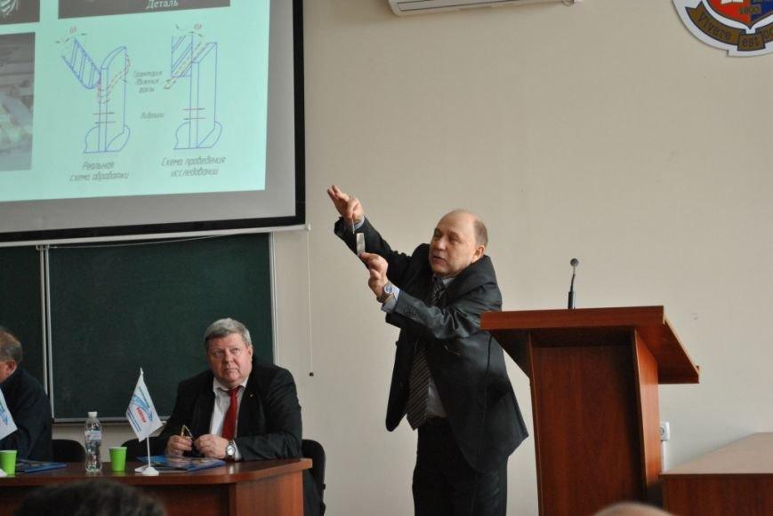 Меценат Александр Богуслаев подарил Запорожскому национальному техническому университету уникальный высокоточный токарный станок нового поколения (фото) - фото 1