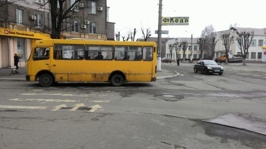 В центре Днепродзержинска из-за прорыва водопровода ограничено движение транспорта, фото-4