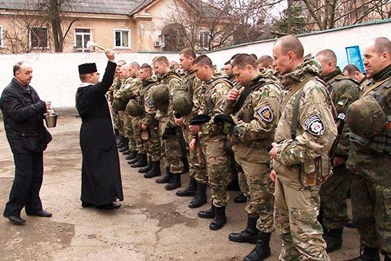 Бійці батальйону «Івано-Франківськ» знову вирушили на Донеччину (ФОТО) (фото) - фото 3