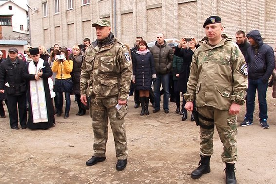 Бійці батальйону «Івано-Франківськ» знову вирушили на Донеччину (ФОТО) (фото) - фото 2