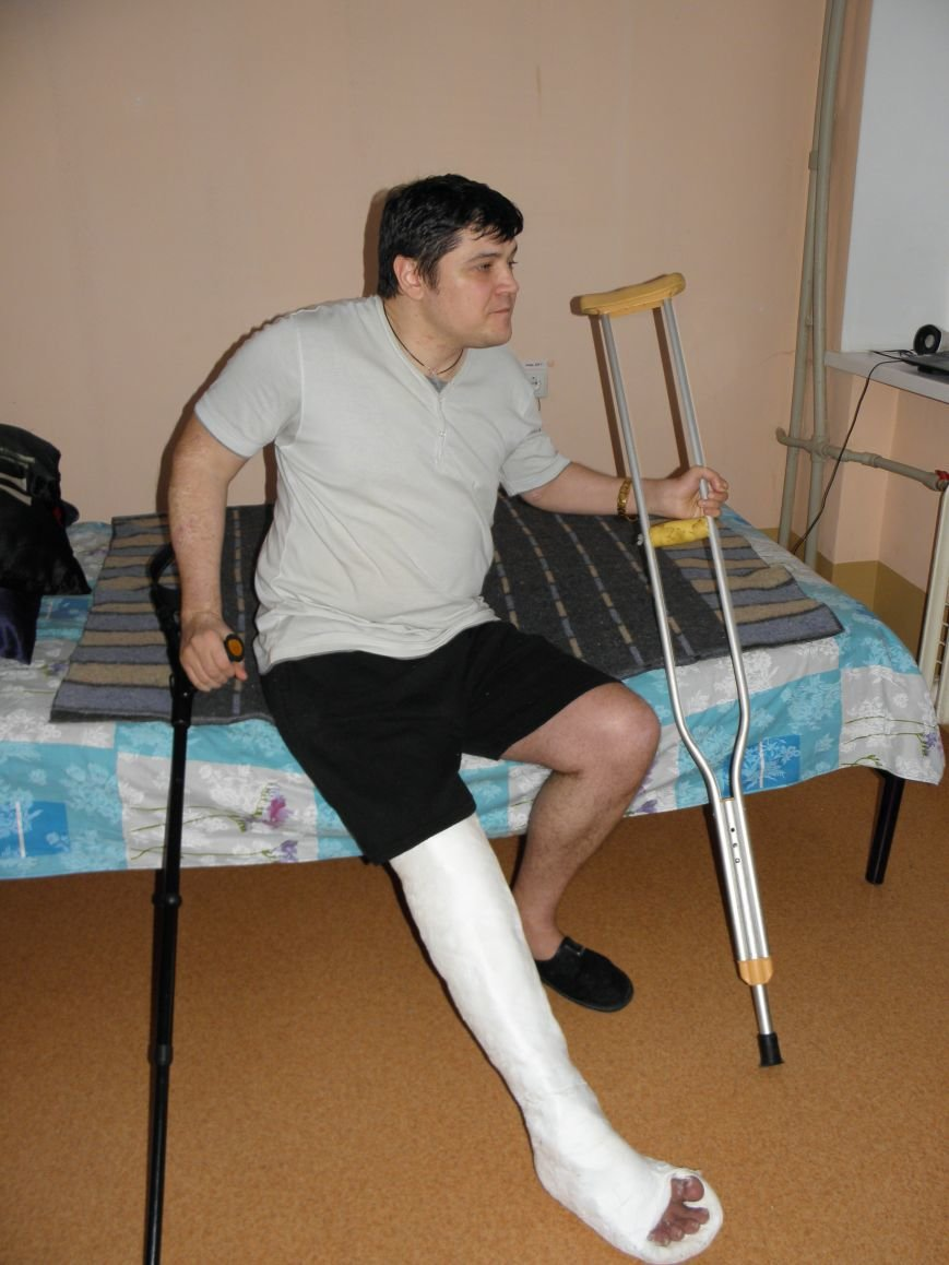 Инвалид с поломанной ногой не сможет жить в арендуемой квартире (фото) - фото 1