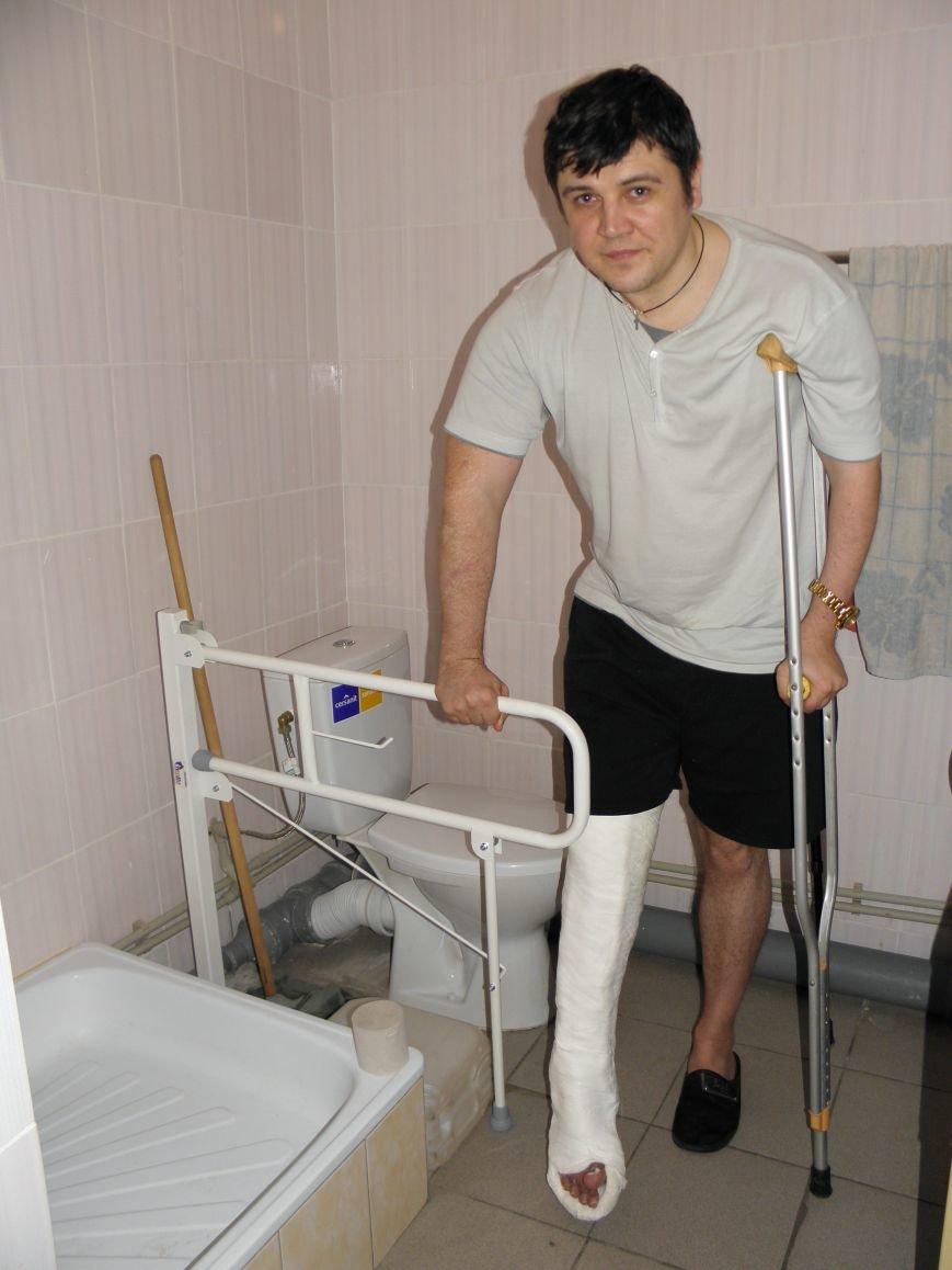Инвалид с поломанной ногой не сможет жить в арендуемой квартире (фото) - фото 5