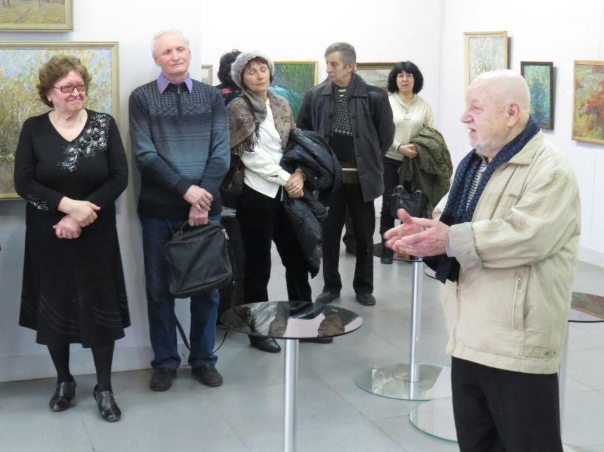 В Мариуполе открылась выставка влюбленного в жизнь художника (ФОТО), фото-4