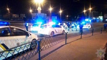 Ночью в Херсоне полиция преследовала пьяного