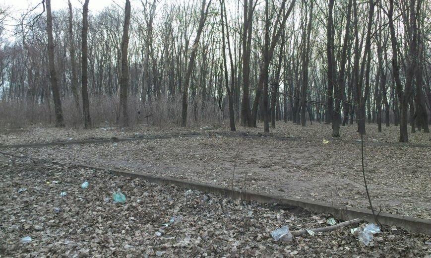 В Красноармейске парк «Юбилейный» лишился не только аттракционов, но и корта (фото) - фото 2