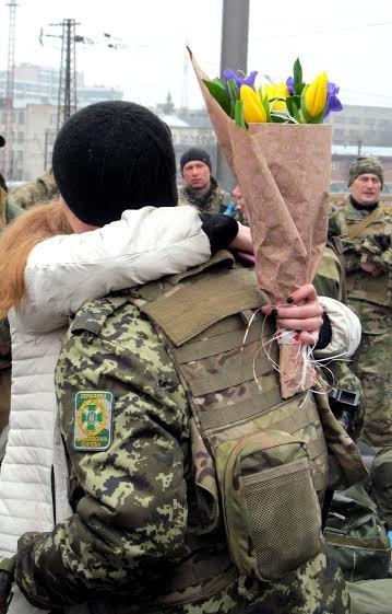 У Львівську область приїхало більше сотні прикордонників із передової (ФОТО), фото-2