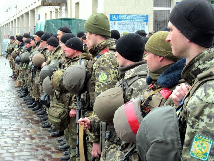 У Львівську область приїхало більше сотні прикордонників із передової (ФОТО), фото-9