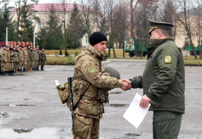 У Львівську область приїхало більше сотні прикордонників із передової (ФОТО), фото-5