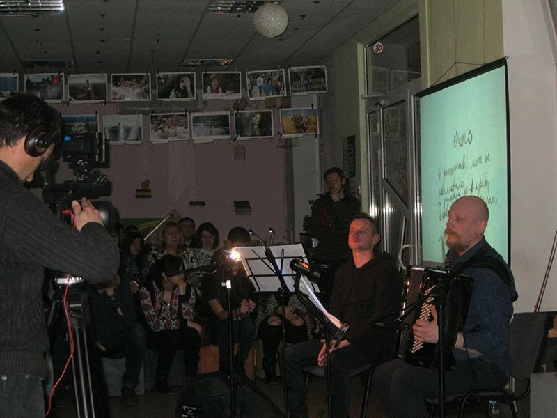 Сергей Жадан в Краматорске собрал на