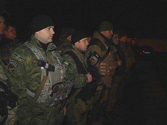Бойцы роты патрульной службы полиции «Сумы» отправились в АТО (ФОТО) (фото) - фото 1