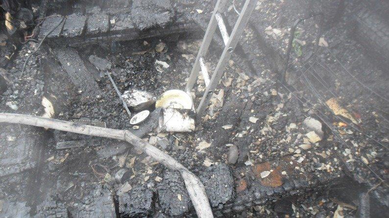 Пожар на Советской (фотофакт) (фото) - фото 1