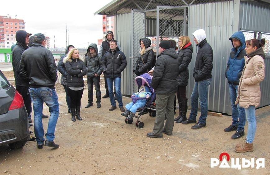 Нерешенный вопрос: в Гродно потенциальных новоселов с Ольшанки продолжают