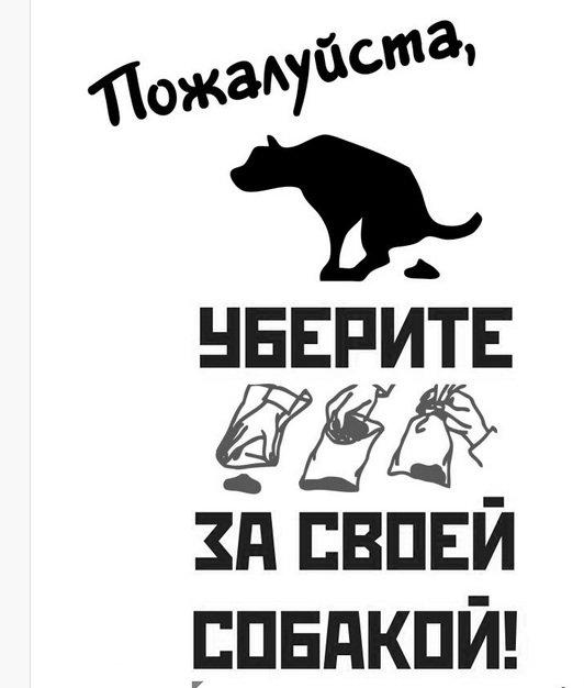 Пожалуйста, уберите за своей собакой! В Одессе хотят распространять красноречивые листовки (ФОТО) (фото) - фото 1