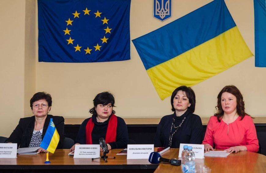Белоцерковская фотовыставка «Женщины и конфликт в Украине» (фото) (фото) - фото 2
