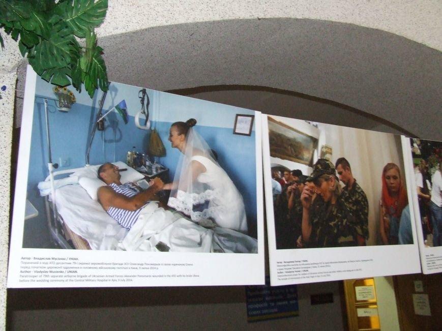 Белоцерковская фотовыставка «Женщины и конфликт в Украине» (фото) (фото) - фото 14
